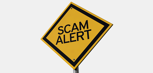 Recruiting Scam Alert